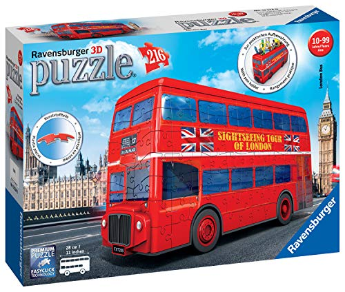 Ravensburger 3D Puzzle 12534 - London Bus - 216 Teile