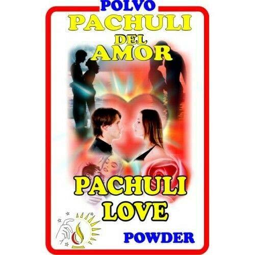 3 PIECES BRYBRADAN PACHULI LOVE-PACHULI DEL AMOR POLVO EN BOLSA 1/2 OZ 14 GR