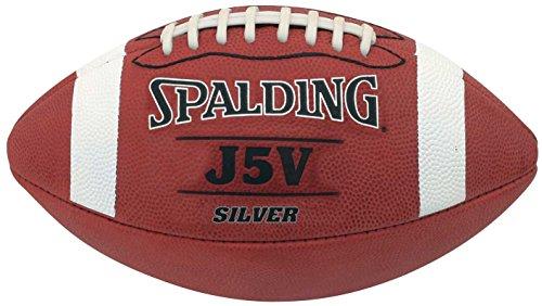 Spalding American Football J5V Silver - Lederball