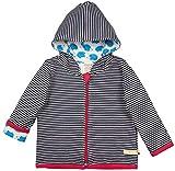 loud + proud Baby-Unisex Wendejacke aus Bio Baumwolle, GOTS Zertifiziert Jacke, Blau (Navy Ny), (Herstellergröße: 98/104)