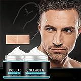 2pcs Men's Wrinkle Face Cream, Crema Antienvejecimiento Revitalizante Para Hombres, Crema Facial Antiarrugas De Noche Natural Y Orgánica Para Reducir Las Líneas Finas Y Arrugas (30g)
