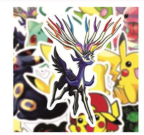 100 Stuks Stickers Voor Kinderen Reistas Fiets Koelkast Laptop Kinderen Speelgoed Anime Pvc Stickers