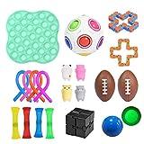 Magent 21pcs Kit De Juguetes Sensoriales Juguetes Antiestrés para El Autismo, Libera Estrés Y Ansiedad para Niños Y Adultos, Regalos Fiesta De Cumpleaños