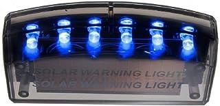 SD 配線不要 電池不要 太陽光充電 置くだけ 愛車 守る 撃退 ブルー LED ダミー センサー セキュリティ  YS-61