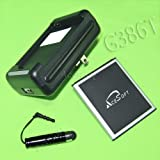 High Capacity 2750mAh Extended Slim Battery Dock Charger Cellphone Stylus for T-Mobile Samsung Galaxy Avant,SM-G386T Smartphone