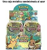 Pokemon JCC- Minilata Amigos de Kanto - Español (Una Suministrada al Azar) (The Pokemon Company...