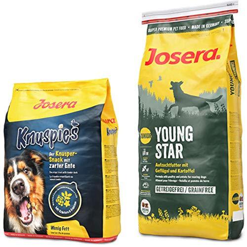 Josera 15 kg YoungStar + 900 g Knuspies