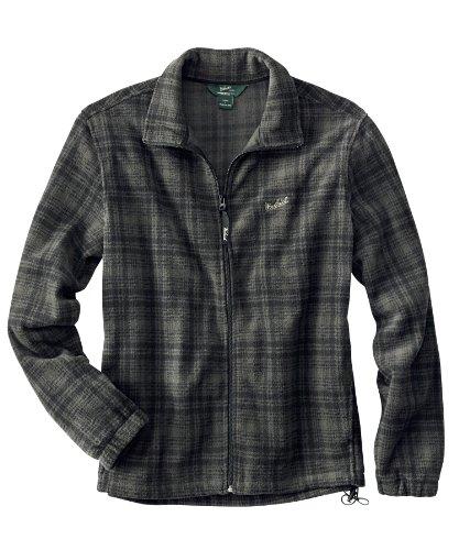 Woolrich Men's Andes Printed Fleece Jacket, Olive Hunt, Large