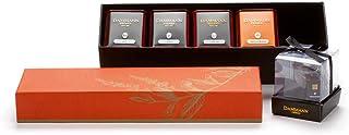 Dammann Freres Horizons Voyages Collection, Horizons Box Set, 115g of Assorted Tea, Includes Bali, Touareg - Thé Vert à La...