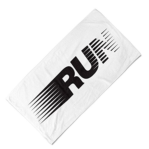 Babloo 35x110 Telo Fitness - Asciugamano da Palestra in Microfibra Run