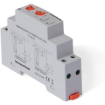 Temporizador de luz de Escalera electrónico 16 A (Tecno Switch, cód. TS101DI): Amazon.es: Bricolaje y herramientas