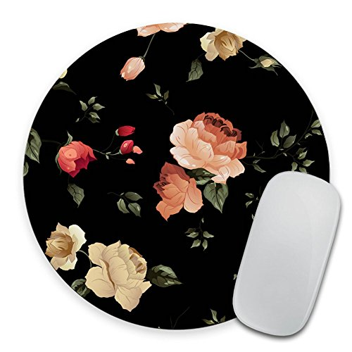 Autumn Mousepad Round Mouse pad Beautiful Design Floral Mouse pad Office