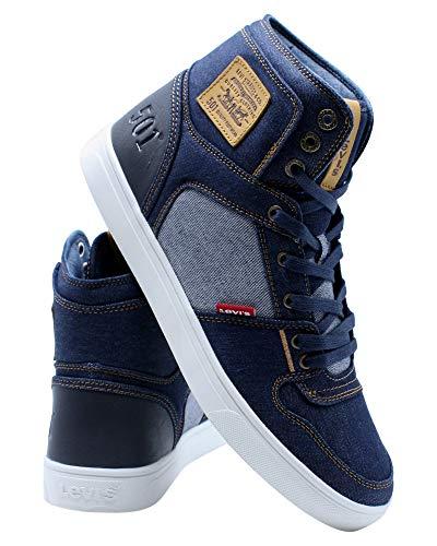 Levi's Shoes Mason Hi 501 Denim Navy/Reverse 10
