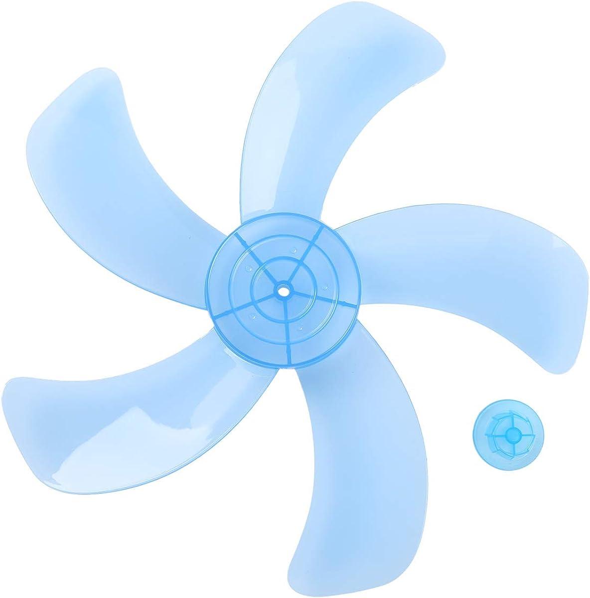 TiaoBug 16 Inches Aspas Plásticas 3/5 Hojas de Ventilador Con/Sin Tuerca para Ventilador de Techo de Pie de Mesa Hojas Repuestos para Ventilador