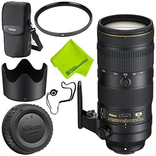 Nikon AF-S NIKKOR 70-200mm f/2.8E FL ED VR Lens Base Bundle