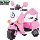 BAKAJI Moto Scooter Elettrico Ricaricabile Vespina Vintage per Bambini e...