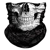 FRAUIT Multifunktionstuch Herren & Damen Biker Bandana Nahtloses- Wind Face Shield - 3D Cool...