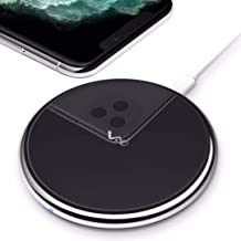 Vebach Dubhe1 Wireless Charger, Qi Certified Fast Wireless Charging Pad Compatible with iPhone 11/11 Pro/11 Pro Max/S/XS Max/XR, 7.5W for iPhone X/8/8Plus, 10W for Samsung Galaxy Note 8 S7 S8 S9