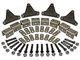 Rigid Hitch Triple Axle Hanger Kit (EK3-D102) for Double Eye Springs