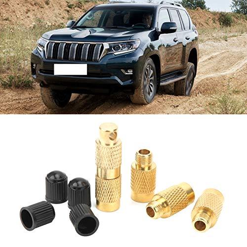 Labuda Alivio de presión de los neumáticos, práctico desinflador de neumáticos 4 en 1 para vehículos Todo Terreno para automóviles