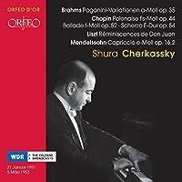 Cherkassky Plays Brahms Chopi by CHOPIN / BRAHMS / LISZT / MENDELS (2007-07-24)