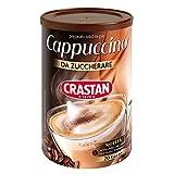 Crastan Preparato per Bevanda solubile Cappuccino da zuccherare - 6 Barattoli da 250g [tot. 1.5kg]