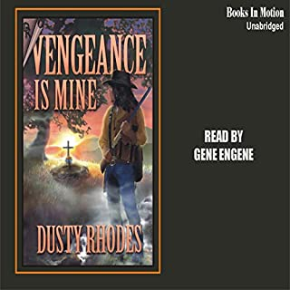 Vengeance Is Mine audiobook cover art