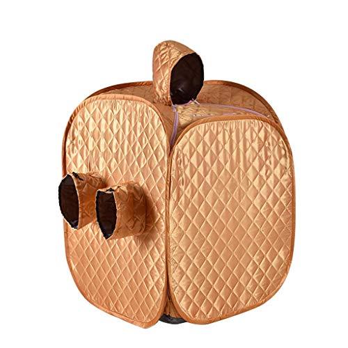 Gona Draagbare stoomsauna, pvc-infrarood verwarming, sauna-box, 1000 W, 1-9 versnellingen, temperatuurinstelling, elektronisch gestuurd, met afstandsbediening