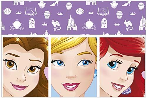 Procos 90869 tafelkleed Disney prinsessen van plastic, roze