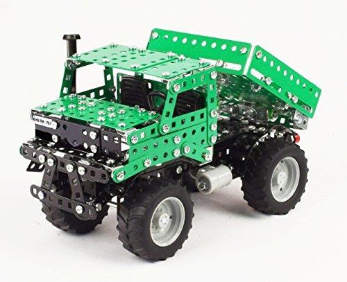TRONICO Metallbaukasten Mercedes Benz LKW Unimog Baureihe 425 Konstruktionsspielzeug Modellbau Bauen mit Werkzeug