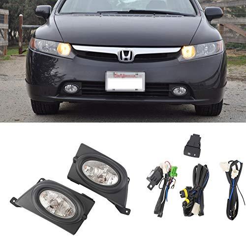07 civic sedan fog lights - 1