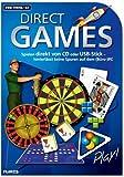 Direct Games, CD-ROM Spielen direkt von CD oder USB-Stick - hinterlässt keine Spuren auf dem (Büro-)PC. Für Windows Vista / XP