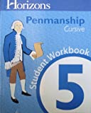 Horizons Penmanship Grade 5 Student Book