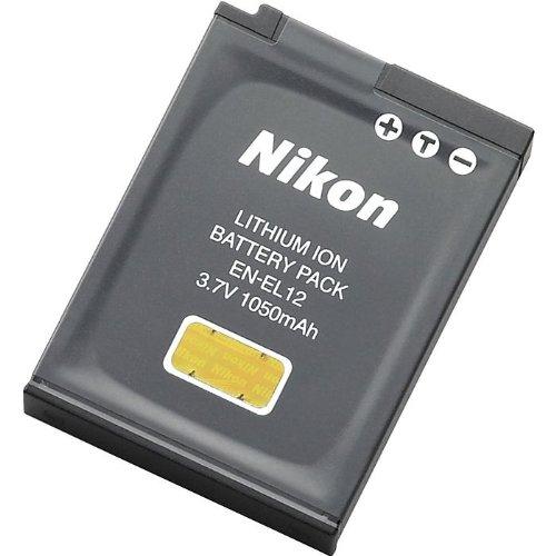 Nikon EN-EL12 Kamera Akku - EN-EL12 Digitalkameraakku 3,7 V 1050 mAh Nikon S610/S610C/S710 coolpix