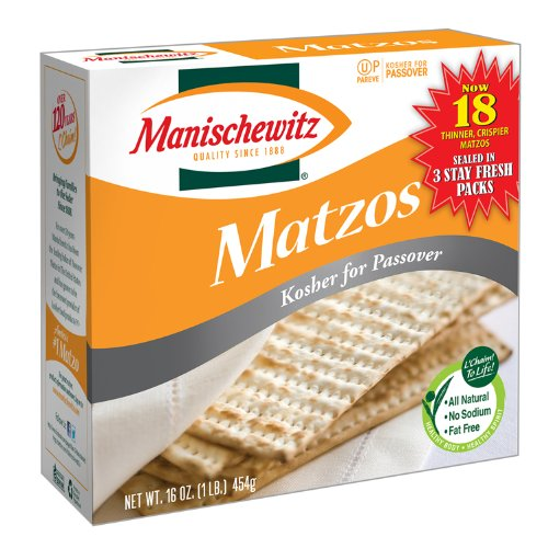 Manischewitz Unsalted Matzo 10 Oz Max 79% OFF Pack Raleigh Mall by 12 Of