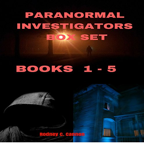 Paranormal Investigators Box Set, Books 1-5 audiobook cover art