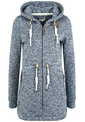 OXMO Thora Damen Fleecejacke Sweatjacke Jacke, Größe:XS, Farbe:Insignia B (791991)