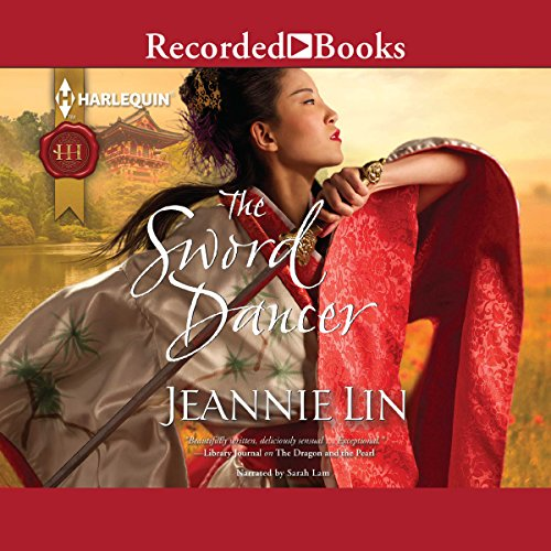 The Sword Dancer audiobook cover art