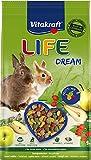 Vitakraft Alimento para roedores de Conejos Enanos, Life Dream, 1 x 1,8 kg