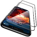 CASEKOO iPhone 11 / iPhone XR ガラスフィルム ガイド枠付き 2枚セット 日本旭硝子製 全面保護フィルム 強化ガラス 透過率99.9 気泡ゼロ 飛散防止( アイフォン11/アイホンXR 用 フィルム 6.1インチ )