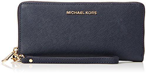 Michael Kors Damen Jet Set Travel Tornistertasche, Blau (Admiral), 1.9x10.1x21 cm