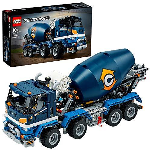 LEGO 42112 Technic Betonmischer-LKW, Bauset