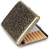 Retro Cigarettes Case Alloy Frosted Cigaret...