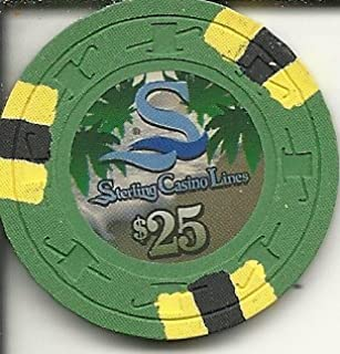 $25 sterling casino line casino cruise chip obsolete
