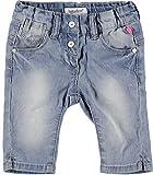 Babyface Baby Mädchen Capri-Jeans, Hellblau, Größe 74