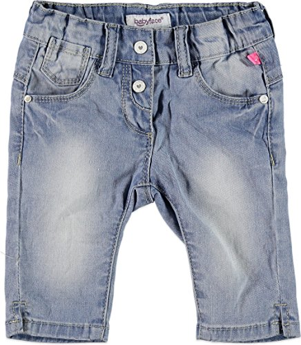 Babyface Bébé Fille Jeans Capri, Bleu Clair, Taille 74