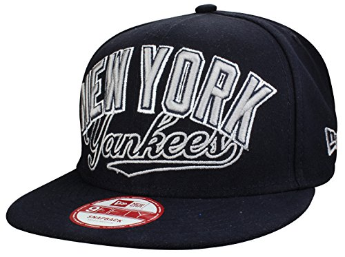 "Casquette New York Yankees Snapback Cap "" ARCH BLOCK CIT"" bleu marine de New Era | Taille S/M"