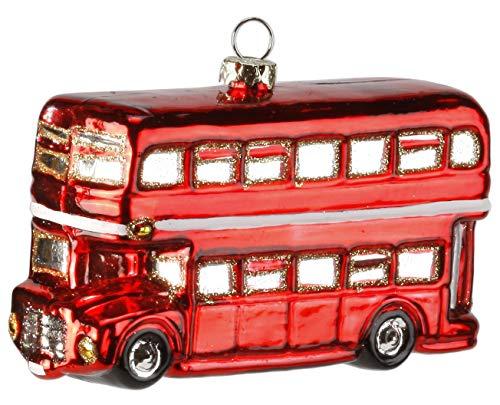 Inge-glas Weihnachts-Hänger Doppeldeckerbus London