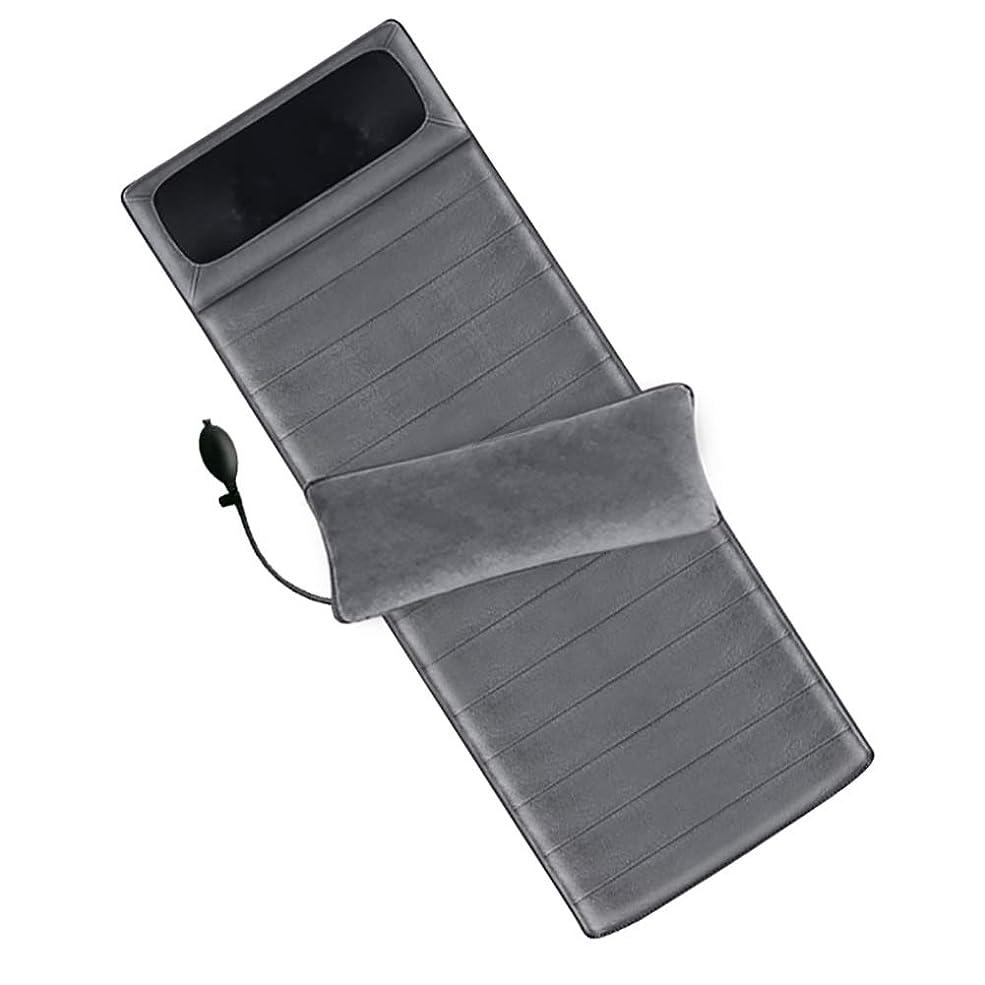 汚物千ギャップ熱で快適なバックマッサージャー、ボディマッサージ、ポータブルマッサージクッションマッサージチェアパッド、ホームオフィスの使用のための筋肉痛を和らげる