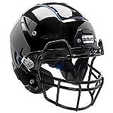 Schutt F7 Professional Youth Football Helmet (Facemask NOT Included), Black, Medium